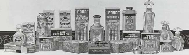 Poro Beauty Products Company Created by Millionairess Annie Turnbo Malone
